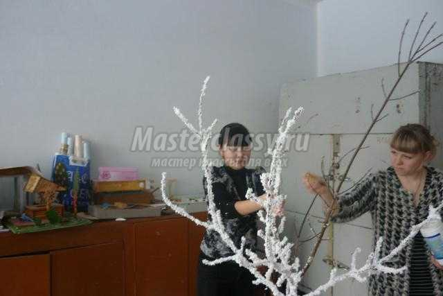 новогоднее дерево пожеланий своими руками