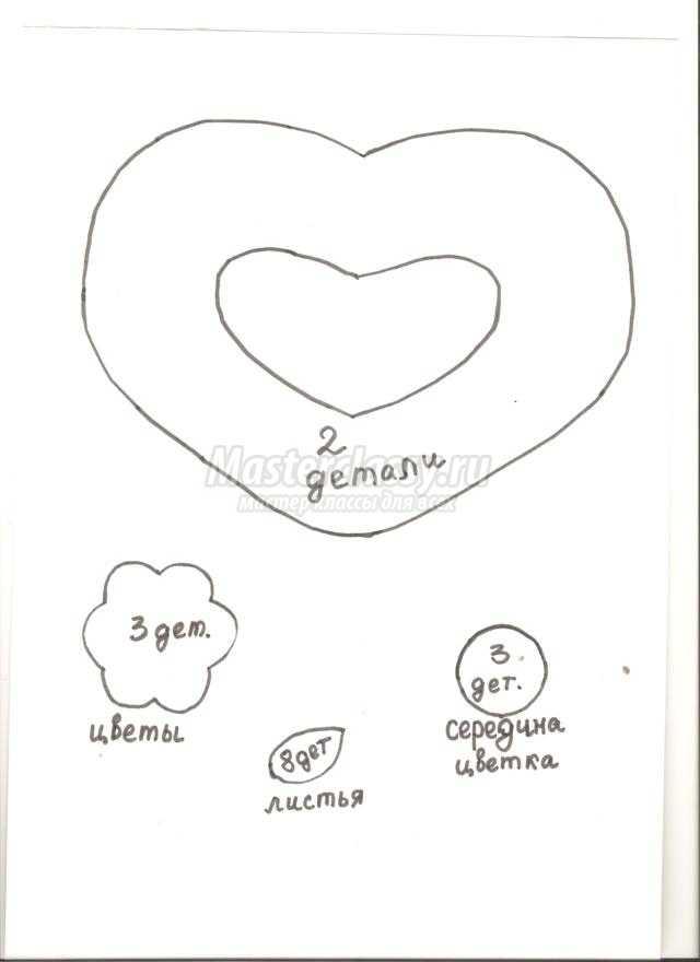 валентинки из вискозных салфеток