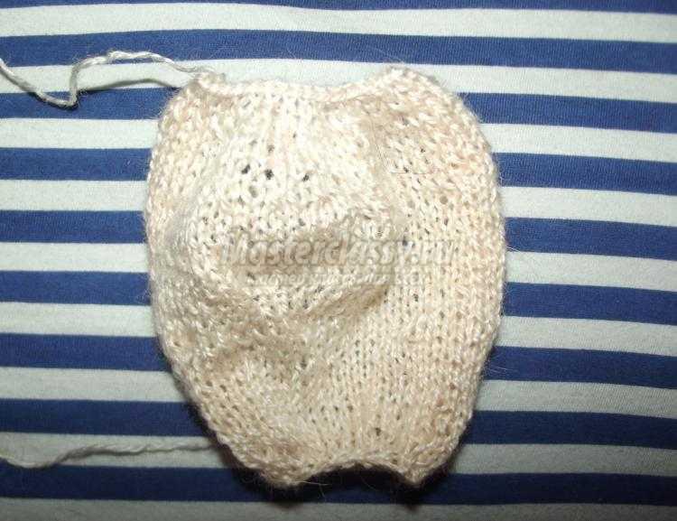 вязаные игрушки спицами мишка маришка мастер класс с пошаговыми фото
