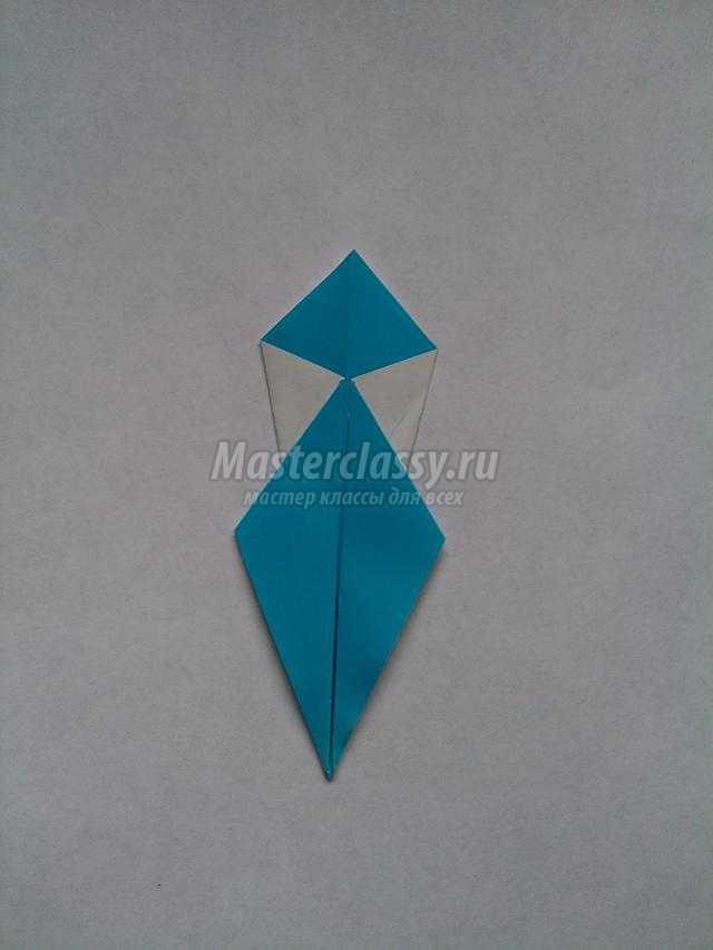 новогодние снежинки из бумаги в технике оригами