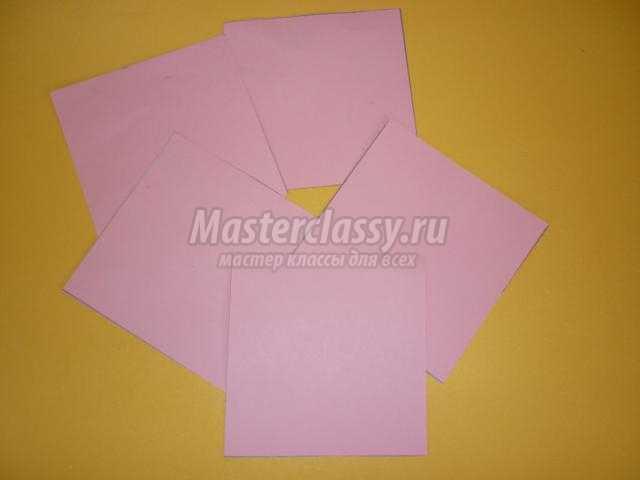 оригами. Топиарий на счастье ко Дню Святого Валентина
