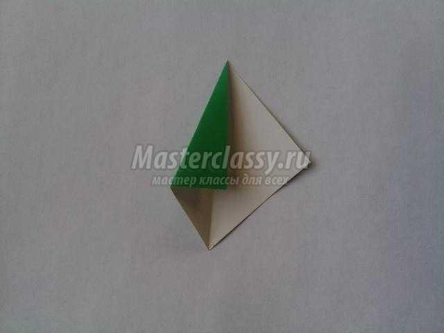звезда из бумаги в технике оригами