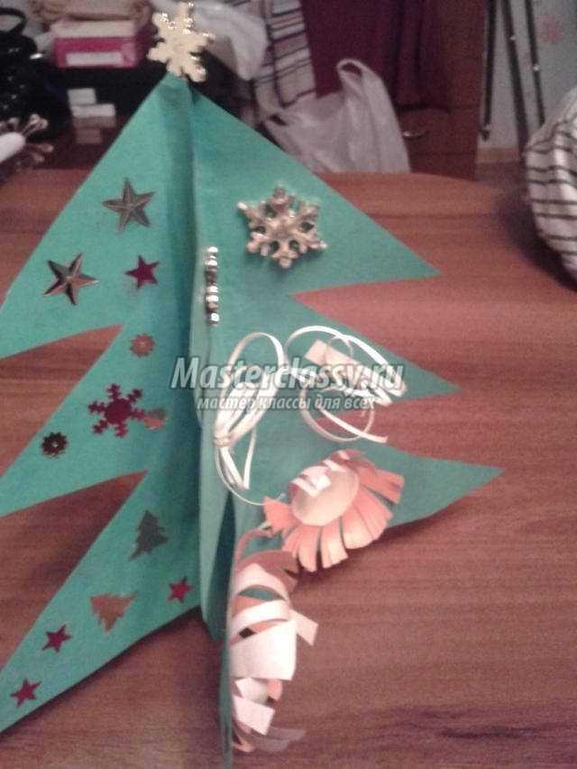 Как сделать елку из бумаги? Популярные идеи и мастер-классы с фото