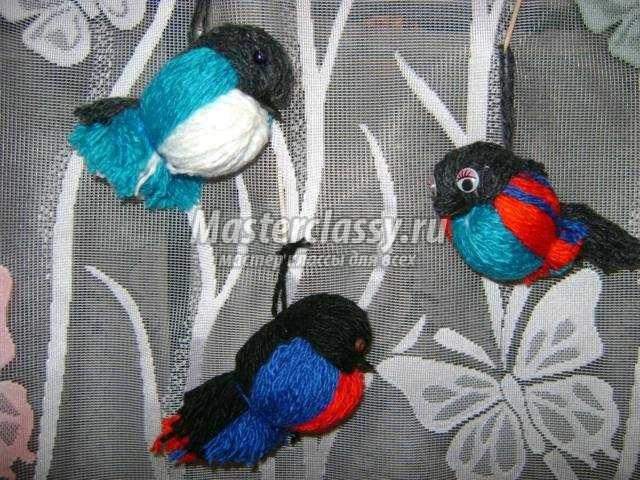 Объёмные птицы своими руками фото 229
