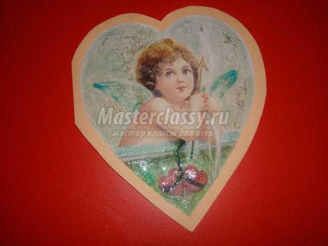 валентинка с секретом своими руками