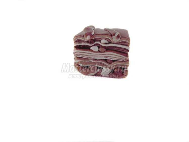 фоторамка с цветами из полимерной глины