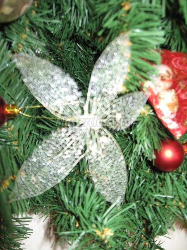 новогодняя елка на стену своими руками