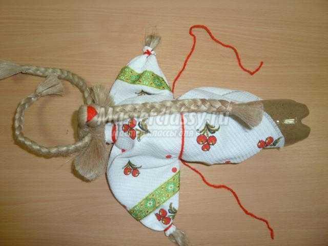 традиционная народная кукла Коза своими руками