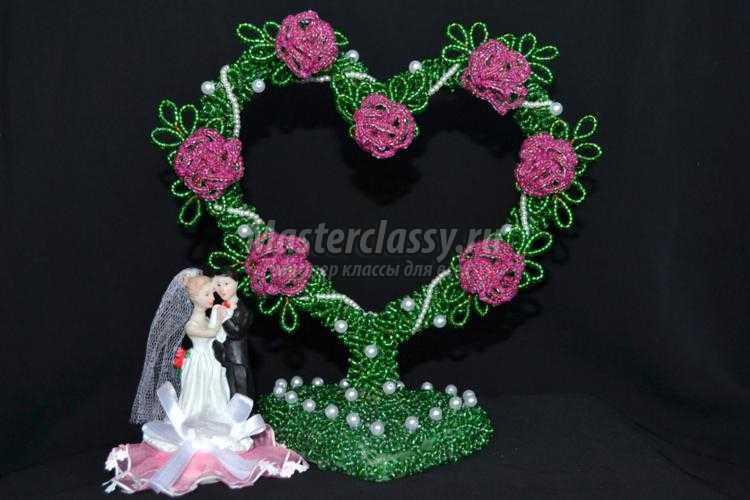 1425127865_39-001_750x500 Дерево любви из бисера своими руками (в форме сердца)!