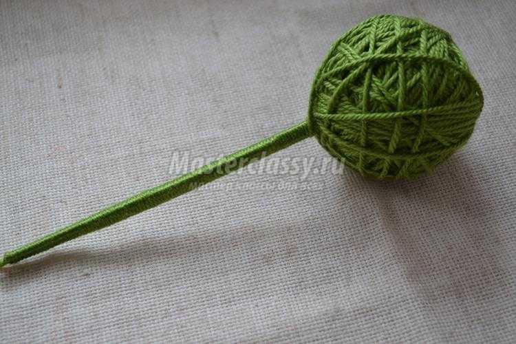 топиарий своими руками. Розы из фетра