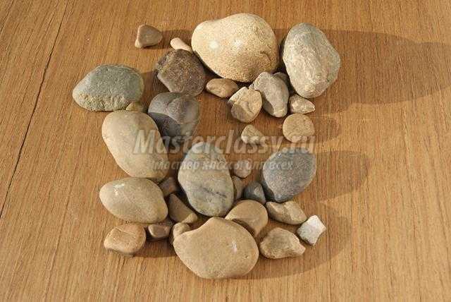 Из камней двора своими руками