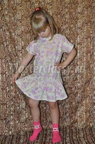 Как сшить летнее платье для девочки