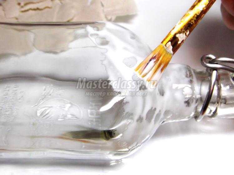 декор бутылки своими руками. Черный скорпион
