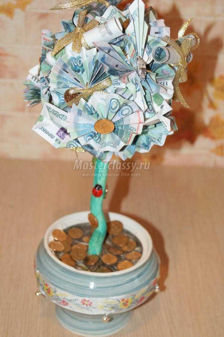 Стихи к подарку денежного дерева 199