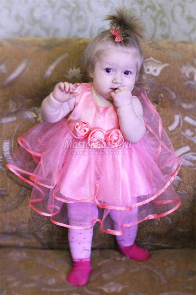Нарядные платья для девочек пошить своими руками фото 158