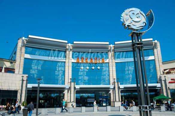 Достопримечательности Варшавы: Бельведерский дворец и торговый центр Аркадия