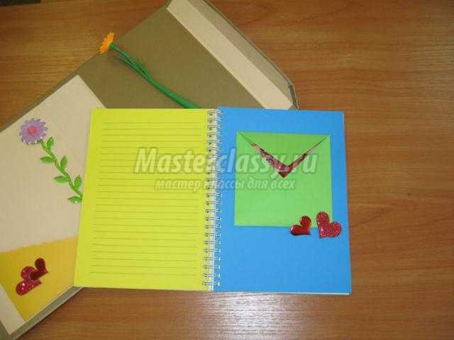 тетрадь для творческих мыслей своими руками