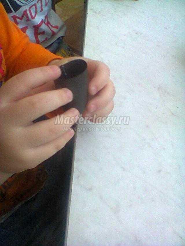объемная ласточка из бумаги своими руками