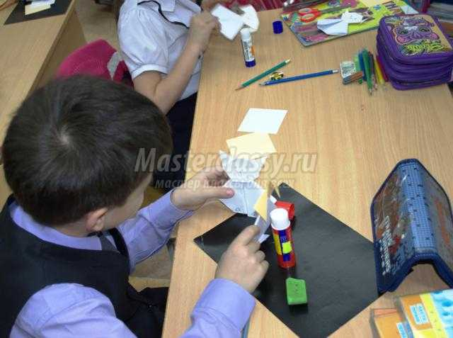 открытое занятие по внеурочной деятельности. Волшебный мир оригами