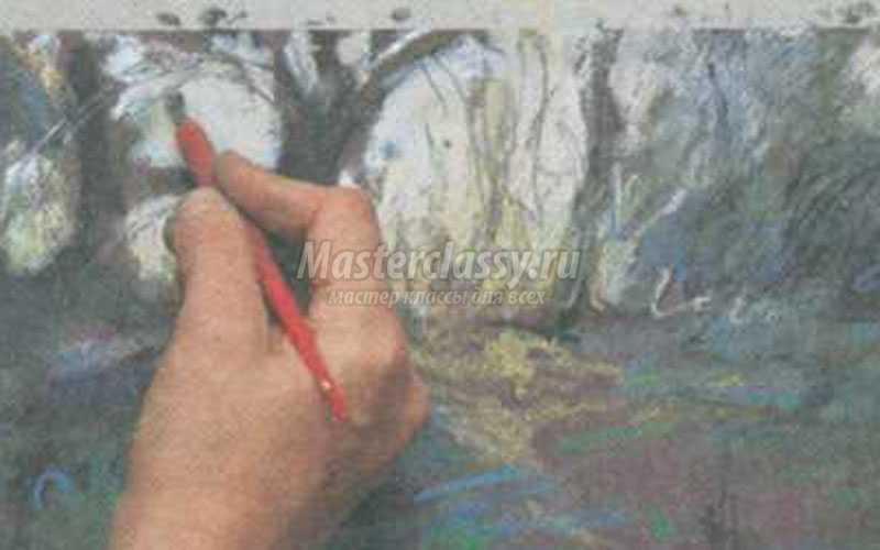 сграффито в рисовании