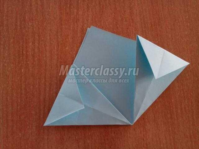 модульное оригами. Цветочный букет на 8 Марта
