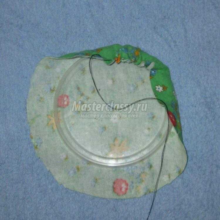 фоторамка и подставка под горячее из сваленных шариков