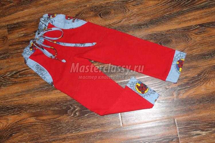 трикотажный костюм для ребенка. Брюки