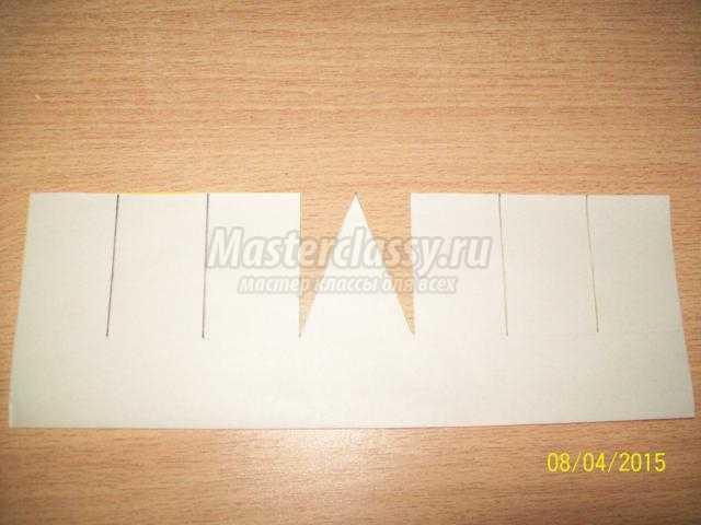 весенние корзинка из бумаги