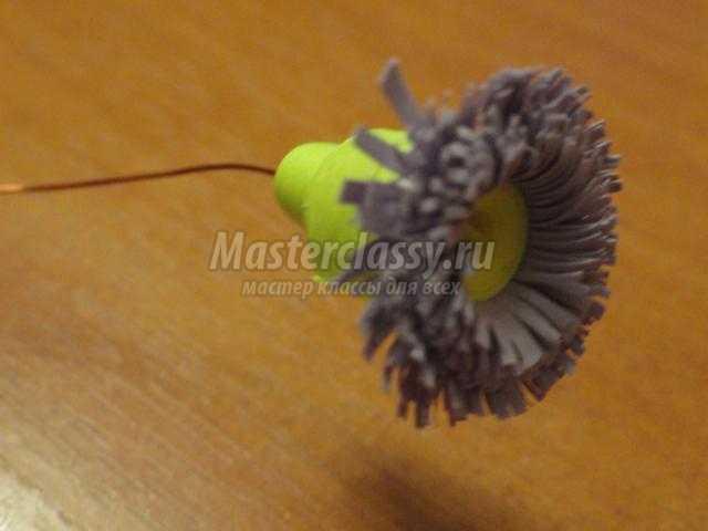 квиллинг декоративное панно. Эти скромные цветы