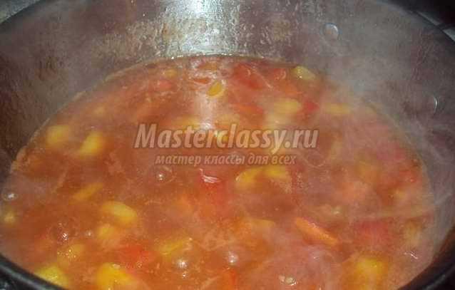 Перец в томате на зиму: лучшие рецепты с фото