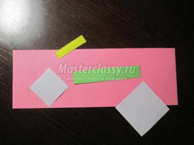 открытка к 8 Марта из бумаги. Ромашки