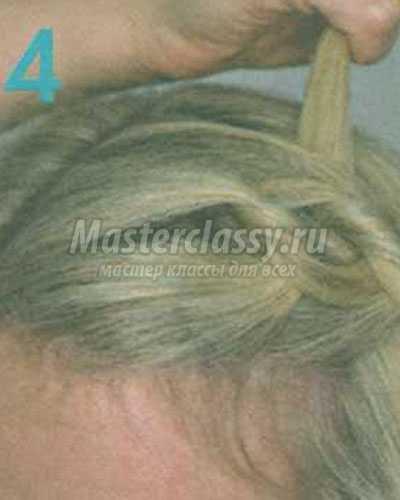 причёска связанная чёлка