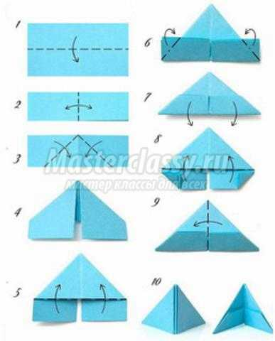 модульное оригами. Праздничная медаль к 9 Мая