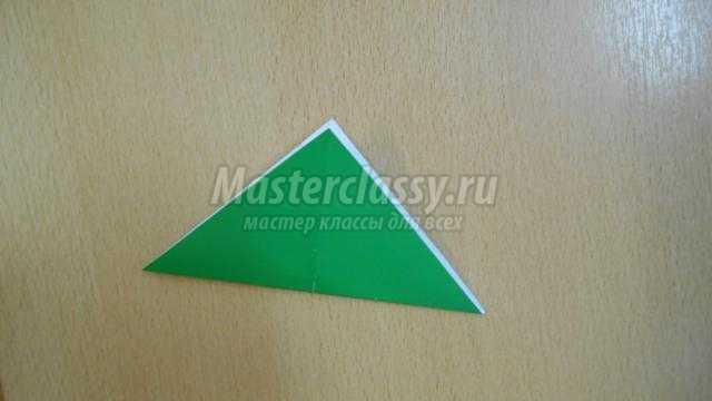 лягушка в технике оригами