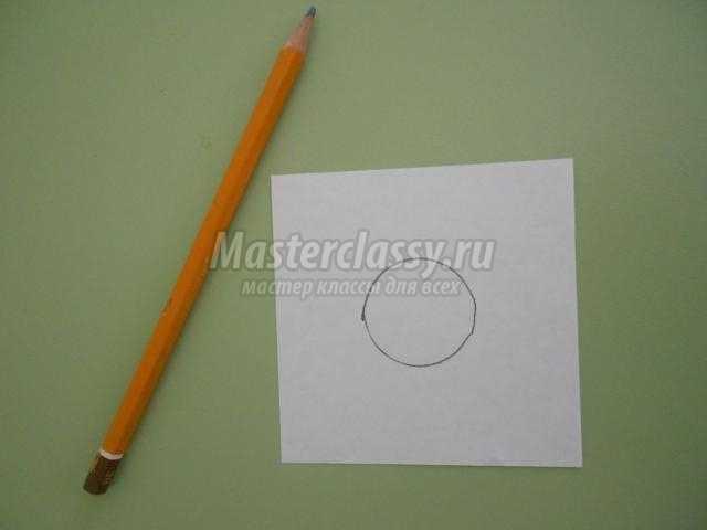 конструирование из бумаги. Космическая ракета