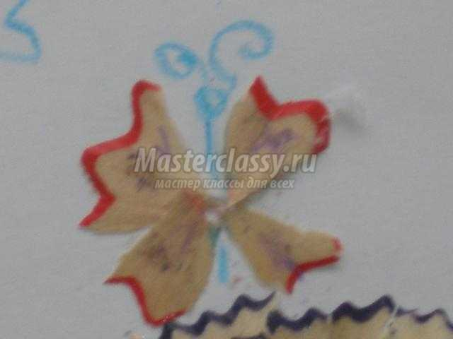 картина из волшебной карандашной стружки