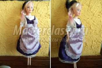 Барби в немецком национальном костюме