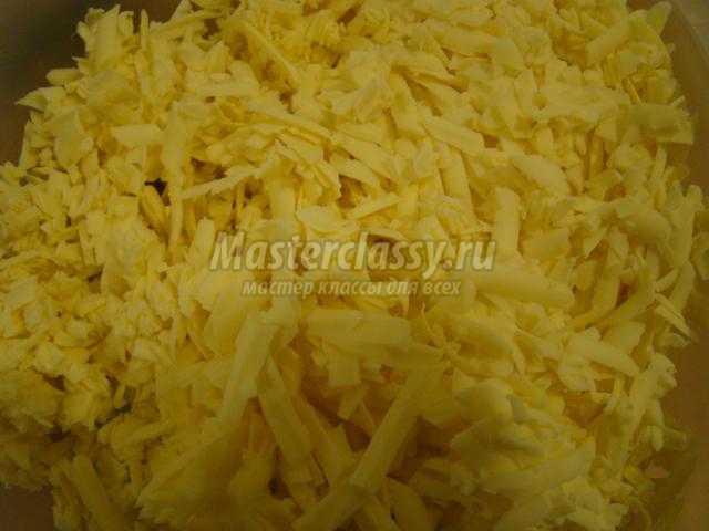 шампиньоны под сыром