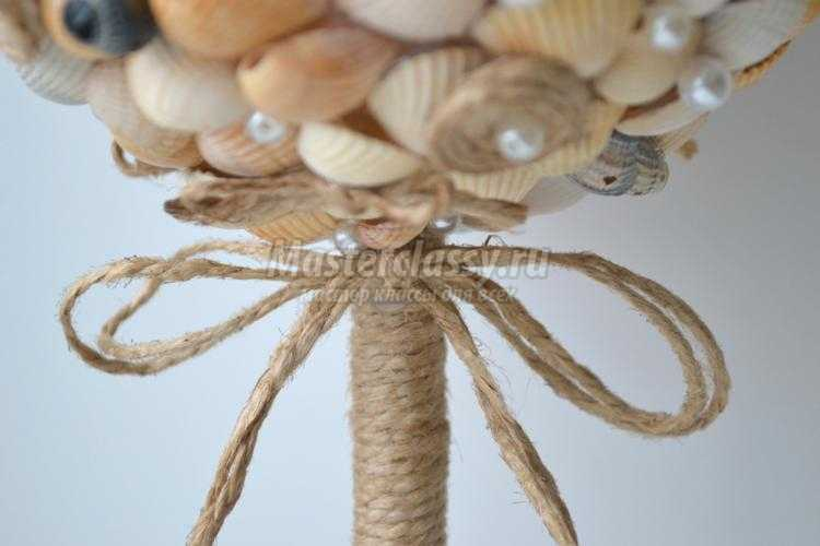 топиарий из ракушек. Морское настроение