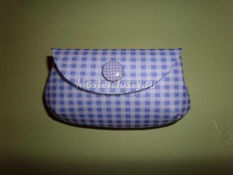 мини-клатч из фетра для очков