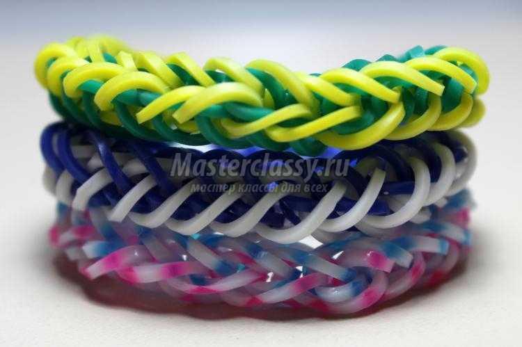 Браслеты своими руками плетения