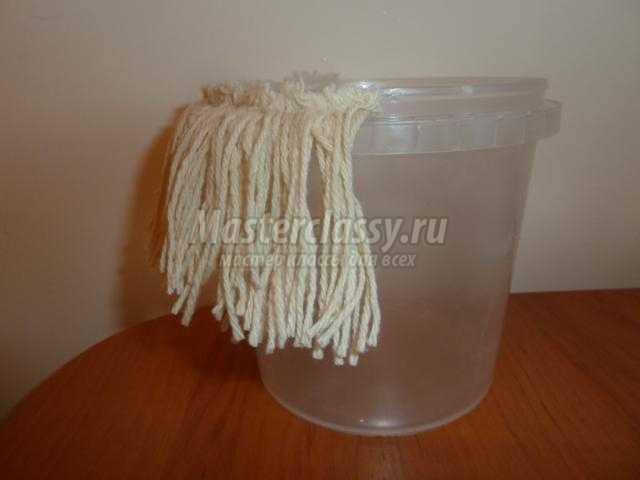 поделки из пластиковых ведерок. Весёлые попадалочки