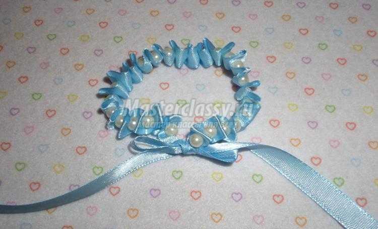 браслеты из жемчужных бусин своими руками