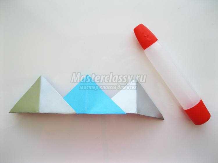 модульное оригами. Корона для принца