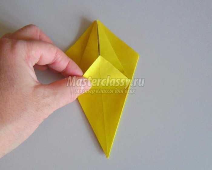Поделки из бумаги с детьми. Как сделать лилию