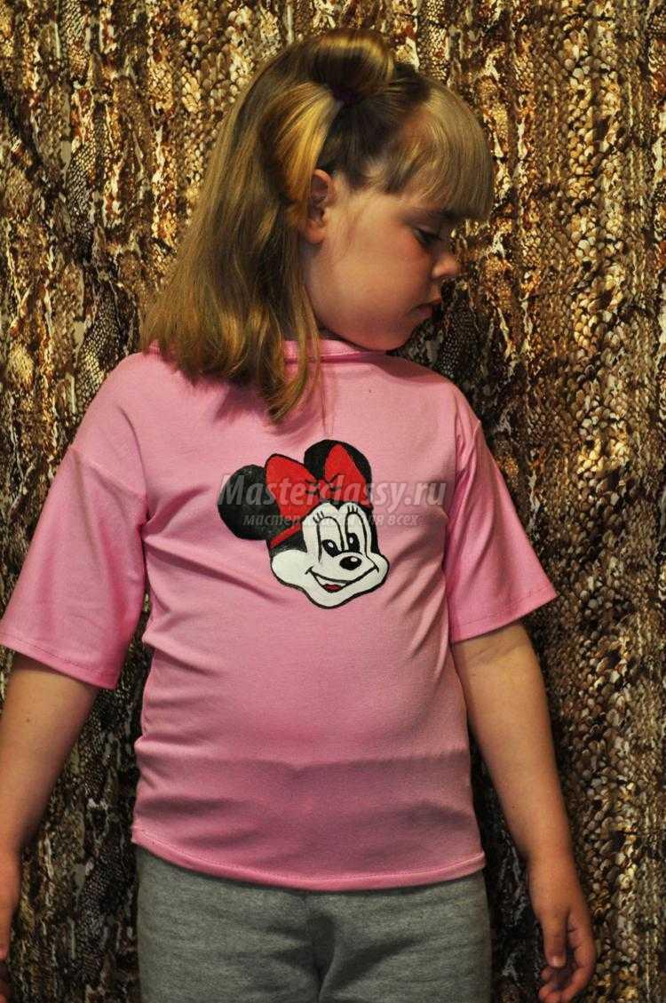 детская футболка с Микки Маусом