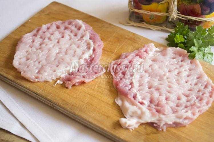 свиные рулетики в ореховой панировке