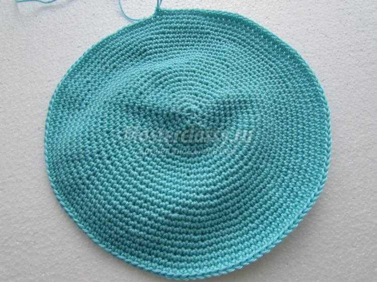 вязаная летняя кепка для мальчика