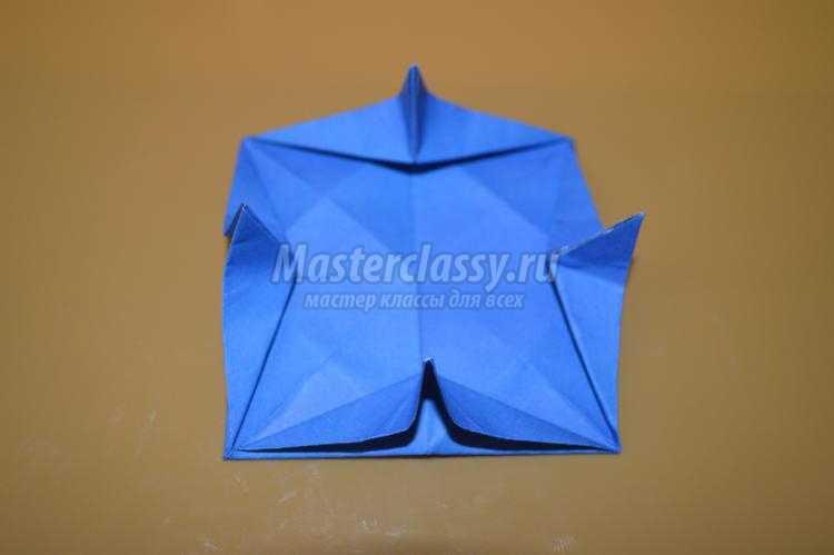 оригами цветы. Кувшинка