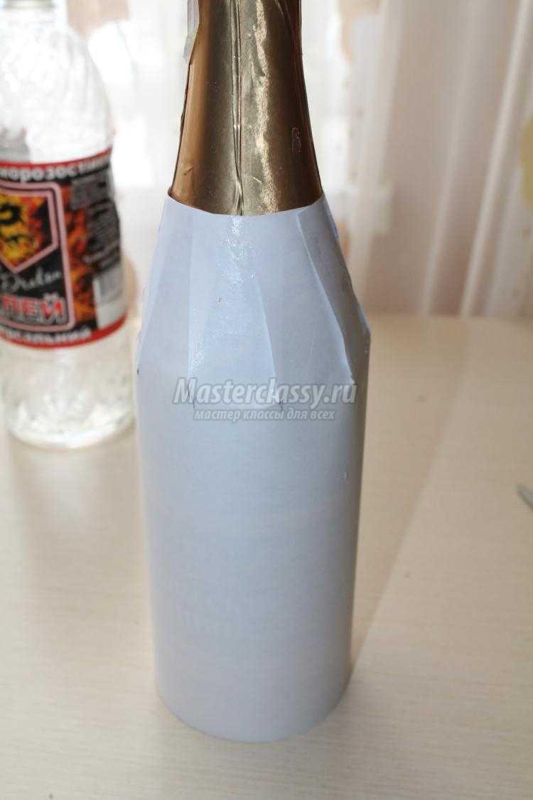 Как сделать жениха на шампанское своими руками